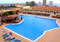 Ferienstudio mit Terrasse. Meerblick und Pool in Playa Paraiso