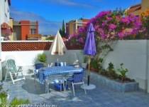 Ferienhaus mit möblierter Dachterrasse in Los Silos-Teneriffa