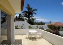 Bungalow mit Meerblick und großer Terrasse in La Matanza
