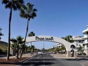 urlaub teneriffa strand palm mar