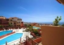 Luxusapartment mit Panoramasicht, Terrasse und Pool in Costa Adeje