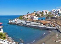 Großes Studio strandnah in Puerto de Santiago mit Dachterrasse