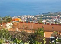 Ferienhaus auf ruhiger Berg-Finca mit Panoramablick bei Icod