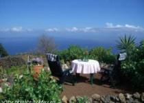 Rustikales Finca Haus mit zwei Terrassen und Meerblick bei Icod