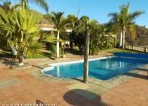 Luxusvilla mit Privatpool und Garten im Westen von Teneriffa