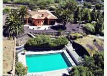 Schöne Villa mit Pool, Sauna und Meerblick bei Los Gigantes