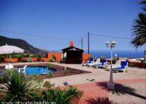 Ferienstudio mit Terrasse, Pool und Sauna in Los Realejos